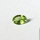 Для украшений ручной работы. Заказать Хризолит натуральный перидот оливин 1,45 карата. Tourmaline. Ярмарка Мастеров.