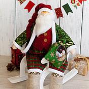 Подарки к праздникам ручной работы. Ярмарка Мастеров - ручная работа Морозыч Санта в стиле тильда. Handmade.