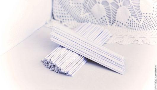 Другие виды рукоделия ручной работы. Ярмарка Мастеров - ручная работа. Купить Бумажная лоза. Handmade. Белый, бумага писчая
