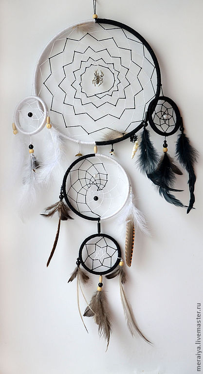 Картинка черно белая ловец снов