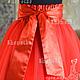 Одежда для девочек, ручной работы. Пышное платье с боа для девочки Катрин. 'SHANETKA' Ксения. Ярмарка Мастеров. Длинное платье
