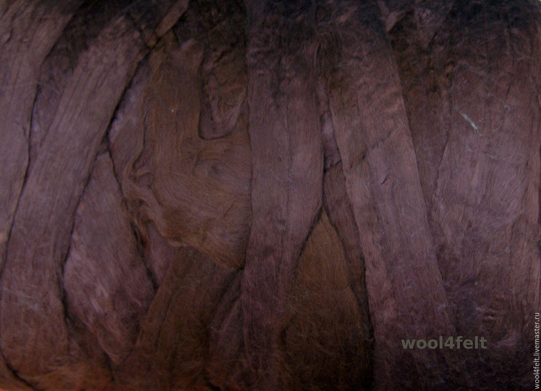 Вискоза коричнево-фиолетовая (VB) 50 г – купить на Ярмарке Мастеров – BHGLHRU | Ткани, Рига