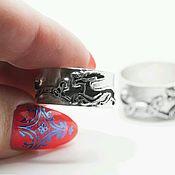 Свадебный салон handmade. Livemaster - original item Engagement rings: MOOSE AND THE CAT. Handmade.