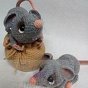 """Мягкие игрушки ручной работы. Ярмарка Мастеров - ручная работа Мастер класс по вязанию игрушки """"Мышки Хранительницы"""".. Handmade."""