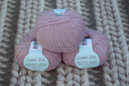 Вязание ручной работы. Ярмарка Мастеров - ручная работа. Купить Debbie Bliss Rialto 4Ply Lilac. Handmade. Бледно-сиреневый