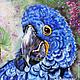 Животные ручной работы. Ярмарка Мастеров - ручная работа. Купить ГИАЦИНТОВЫЙ АРА. Handmade. Синий, тропики, птица, Бразилия