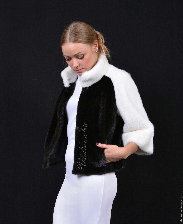 Верхняя одежда ручной работы. Ярмарка Мастеров - ручная работа. Купить Шубка ПАНДА. Handmade. Дизайн, Норка, дизайнерская одежда