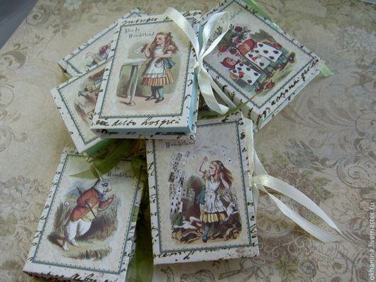 """Блокноты ручной работы. Ярмарка Мастеров - ручная работа. Купить Блокнот серии """"Алиса и чудеса"""". Handmade. Блокнот ручной работы"""