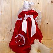 Мягкие игрушки ручной работы. Ярмарка Мастеров - ручная работа Ангел в красном. Handmade.