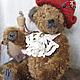 Мишки Тедди ручной работы. Ярмарка Мастеров - ручная работа. Купить мишка тедди Леон. Handmade. Коричневый, авторский медведь