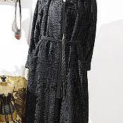 Одежда ручной работы. Ярмарка Мастеров - ручная работа Шуба, стиль футляр, свакара ткань. Handmade.