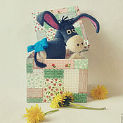 Куклы и игрушки ручной работы. Ярмарка Мастеров - ручная работа Ослик Иа!. Handmade.