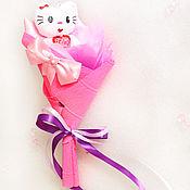 """Цветы и флористика ручной работы. Ярмарка Мастеров - ручная работа Букет из мягкой игрушки """"Hello Kitty mini"""". Handmade."""