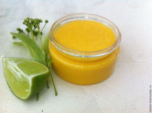 Крем для рук и ногтей `Лимонный цвет`