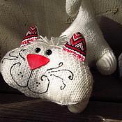 Куклы и игрушки ручной работы. Ярмарка Мастеров - ручная работа Трикотажный котенок. Handmade.