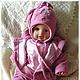 """Для новорожденных, ручной работы. Заказать Комплект одежды """"Звёздочка моя ясная"""". Марина (Первые одёжки) (marimay-child). Ярмарка Мастеров."""