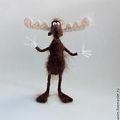 Куклы и игрушки ручной работы. Ярмарка Мастеров - ручная работа Лось Бульвинкль. Handmade.