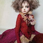 """Куклы и пупсы ручной работы. Ярмарка Мастеров - ручная работа Авторская художественная кукла """" Победительница"""". Handmade."""