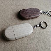 Сувениры и подарки handmade. Livemaster - original item Wooden flash drive with and without engraving, keychain, gift, souvenir. Handmade.