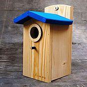 Для дома и интерьера handmade. Livemaster - original item Birdhouse handmade for birds