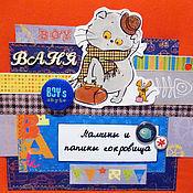 Работы для детей, ручной работы. Ярмарка Мастеров - ручная работа Шкатулка Мамины сокровища для мальчика. Handmade.
