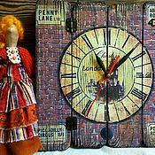Для дома и интерьера ручной работы. Ярмарка Мастеров - ручная работа Часы настенные СТАРЫЙ ЛОНДОН. Handmade.