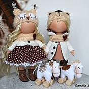 Куклы и игрушки ручной работы. Ярмарка Мастеров - ручная работа Близняшки с коняшками. Handmade.