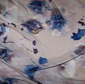 Материалы для творчества ручной работы. Ярмарка Мастеров - ручная работа Итальянский натуральный шелк ALTA MODA. Handmade.
