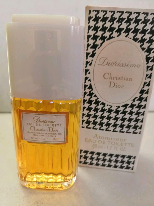 Винтаж: Diorissimo Christian Dior 50 МЛ EDT – купить на Ярмарке Мастеров – M12XIRU | Духи винтажные, Минеральные Воды
