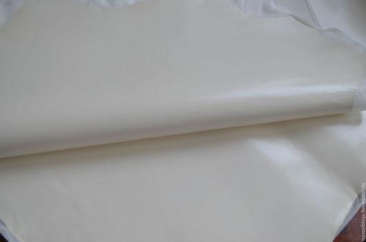 """Шитье ручной работы. Ярмарка Мастеров - ручная работа. Купить """"Молоко"""" кожа. Италия, овчина.. Handmade. Белый"""