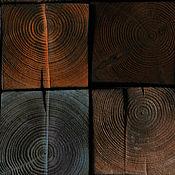 Картины и панно handmade. Livemaster - original item Loft panel Colors of Autumn. Wooden panels. Wall panel loft.. Handmade.