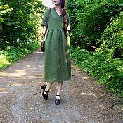 Одежда ручной работы. Ярмарка Мастеров - ручная работа Базовое Simple Dress Плотное. Handmade.