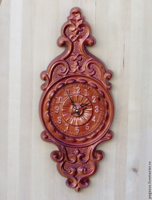 Часы для дома ручной работы. Ярмарка Мастеров - ручная работа. Купить Часы для дома настенные №5.. Handmade. Часы настенные