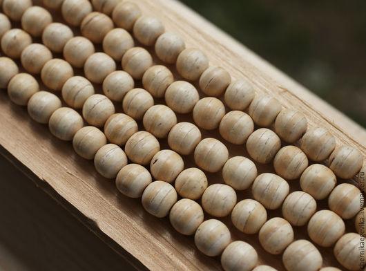 Для украшений ручной работы. Ярмарка Мастеров - ручная работа. Купить Бусины круглые, кокос, 10 мм, за 5 шт.. Handmade.