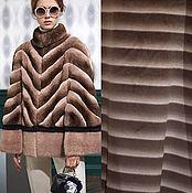 Материалы для творчества ручной работы. Ярмарка Мастеров - ручная работа Ткань роскошная пальтовая шерсть полоса. Handmade.