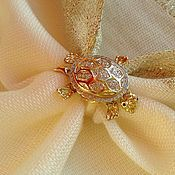 Rings handmade. Livemaster - original item Ring Baby. Diamonds, gold 585. Handmade.