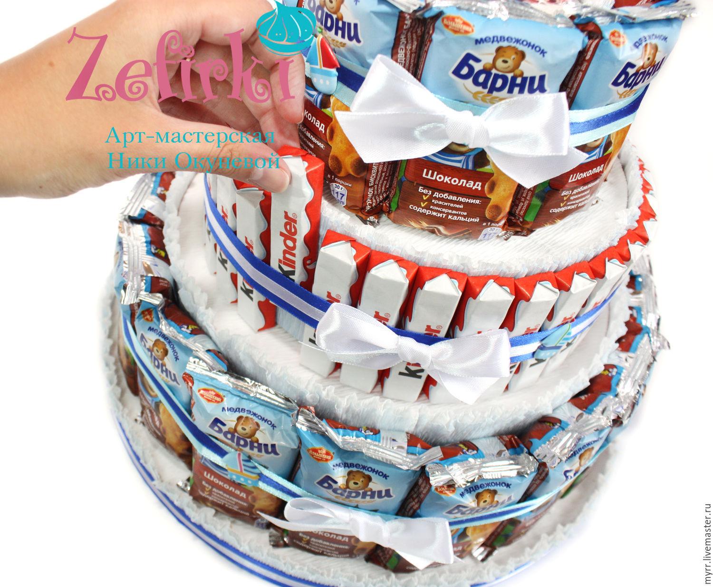 Как сделать торт из сока и киндера своими руками 84
