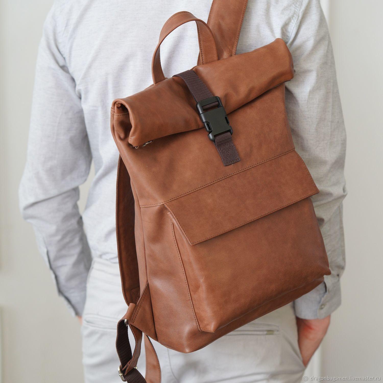 3aa8d30cb696 Мужские сумки ручной работы. Ярмарка Мастеров - ручная работа. Купить  Мужской рюкзак 'Franco ...