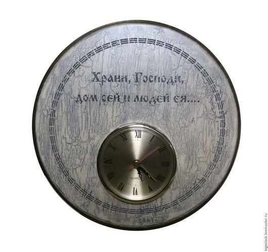 Часы для дома ручной работы. Ярмарка Мастеров - ручная работа. Купить Настенные часы.. Handmade. Комбинированный, бук
