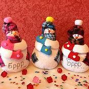 """Подарки к праздникам ручной работы. Ярмарка Мастеров - ручная работа Снеговик """"Ну, купите меня пожалуйста..."""". Handmade."""