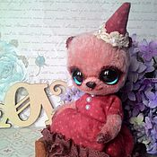Куклы и игрушки ручной работы. Ярмарка Мастеров - ручная работа Мишка авторская. Абигаль,17 см. Handmade.