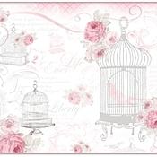 Бумага ручной работы. Ярмарка Мастеров - ручная работа Рисовая бумага La Vie en Rose Cages. Handmade.