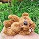 Мишки Тедди ручной работы. Заказать Мишка Тедди (дачник Миша). Марина Рыбчинская (куклы и мишки). Ярмарка Мастеров.