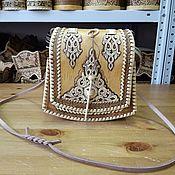 Сумки и аксессуары handmade. Livemaster - original item Handbag made of birch bark. Birch bark bag. bag handmade. Handmade.