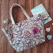 Сумки и аксессуары handmade. Livemaster - original item beach bag: Ecosumy summer