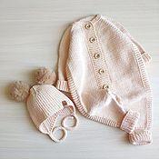 Одежда детская handmade. Livemaster - original item Set of children`s clothing made of cotton. Handmade.