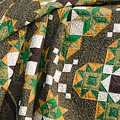 Для дома и интерьера ручной работы. Ярмарка Мастеров - ручная работа Одеяло Таёжный сезон. Handmade.
