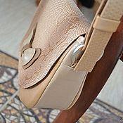 Сумки и аксессуары ручной работы. Ярмарка Мастеров - ручная работа Классическая сумочка из кожи,  с бантиком. Для примера. Handmade.