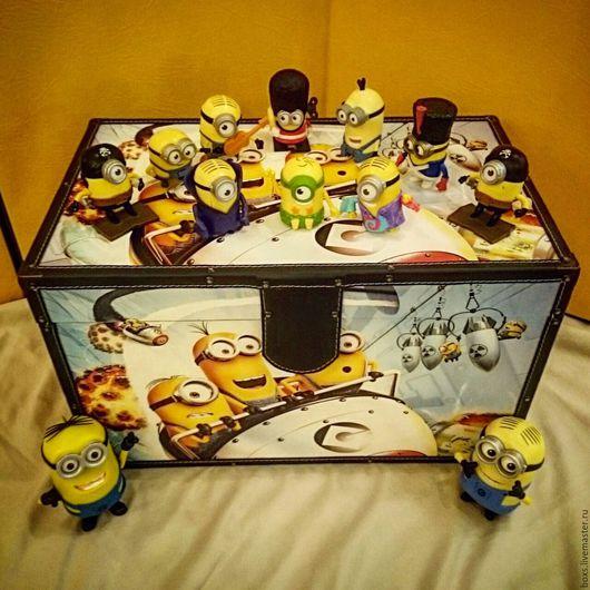 Детская ручной работы. Ярмарка Мастеров - ручная работа. Купить Сундук для игрушек. Handmade. Комбинированный, детская мебель, мебель в детскую