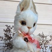 Куклы и игрушки ручной работы. Ярмарка Мастеров - ручная работа Зайка Софи авторская игрушка. Handmade.